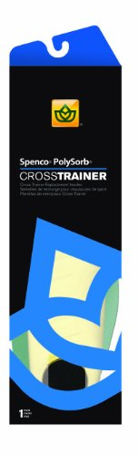 Polysorb Replacement - Spenco PolySorb Cross Trainer Green 1