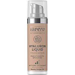 LAVERA Hyaluron Liquid Foundation Bases et Primers Honey Beige 04