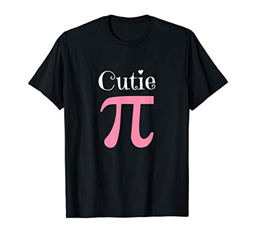 Funny Pi Symbol Shirt Cutie Pie National Pi Day Tee Gift
