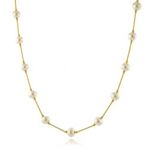 Bling Jewelry Yellow Cultured Necklace