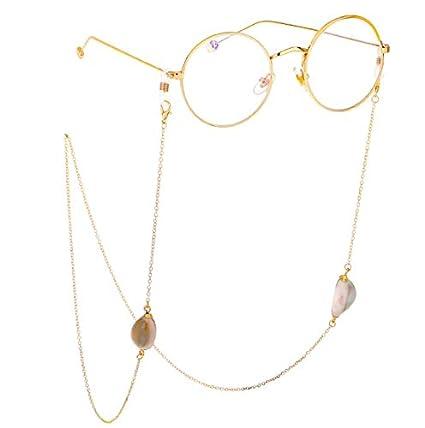 Concha de Metal para Gafas diseño de Cadena Cuerda Correa de ...