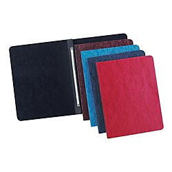 Office Depot Pressboard Side-Bound Report Binders With Fasteners, 60% Recycled, Earth Red, Pack Of 10, A7025128