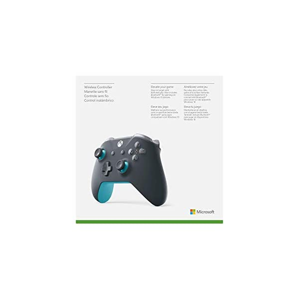 Xbox Wireless Controller - Grey And Blue 7