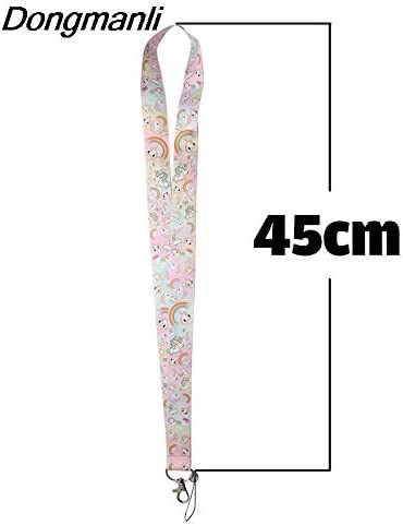 Davitu Chain Necklaces M1509 DMLSKY 24pcs//lot Wholesale horse necklace lanyard badge ID lanyards mobile phone rope neck straps accessories