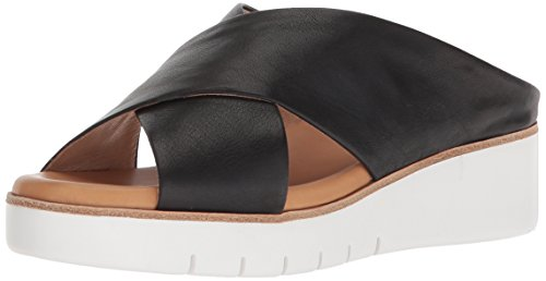 CC Corso Como Women's CC-Brunna Slide Sandal, Black, 8.5 Medium US