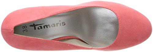Tamaris 22407, Women's Platform Heels Red (Coral 563)