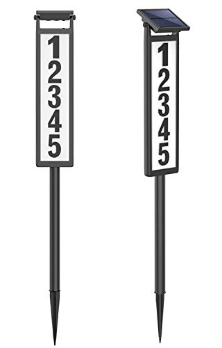 Thing need consider when find solar address signs for houses?