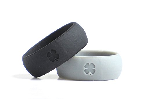 Pack Lucky Silicone Wedding Bands