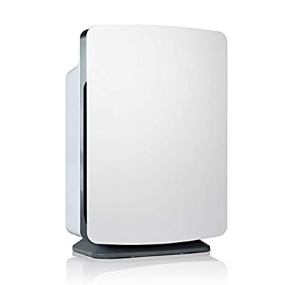 Alen BreatheSmart Classic Large Room Air Purifier, 1100 sqft. Big Coverage Area, HEPA Filter for Allergies, Dust, Mold, Bacteria, Smoke and Chemicals in White