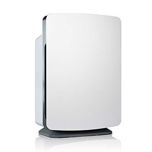 Alen BreatheSmart Classic Large Room Air Purifier - HEPA Filter for Pet Dander & Odor - 1100 sqft - White