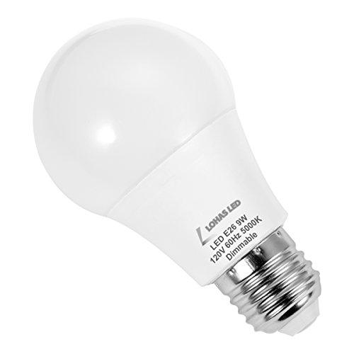 K Tool International 26 Watt Fluorescent Angle Work Light: LOHAS LED Light Bulbs, A19 Dimmable LED Bulb, 60 Watt