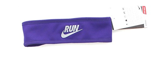 Nike Juniors Girls' Performance Reversible Headband Purple Pink 577042 (Purple) (Nike Reversible Headband)