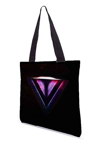 Colores varios Y 3388 bag De Multicolor Tela Rrpc Snoogg Bolsa Playa qYtx0B