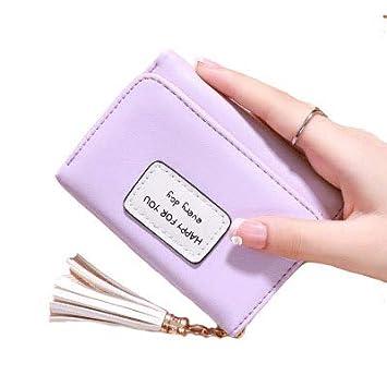 98763471c7ed レディース財布,MOCOFO 財布 レディース パープル 人気商品 カワイイ多機能財布 二つ折り 小さい