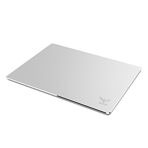 31d0wKQjOcL - HAVIT Aluminum Gaming Mouse Pad with Anti-Skid Rubber Base - Silver (HV-MP835)