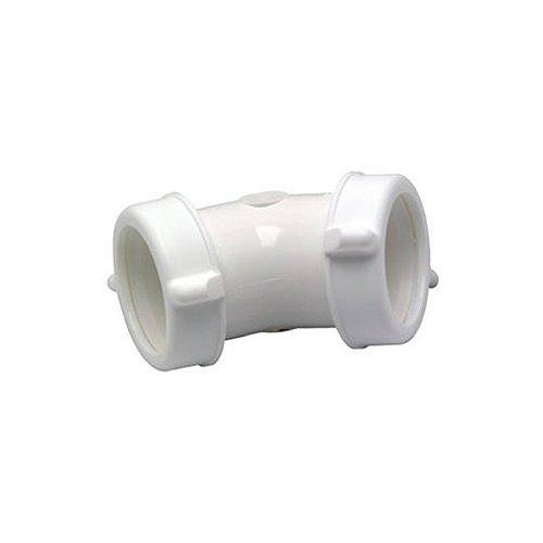 (Master Plumber 622-514 MP Plastic 45DEG Drain Elbow)