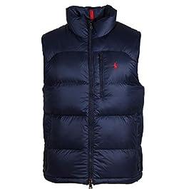 Ralph Lauren Men's down vest – sleeveless.