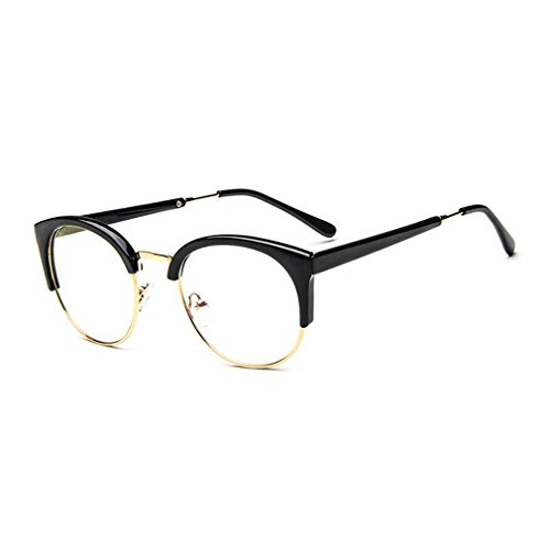 MOQQE Eyeglasses Glasses Frame Eyewear Fashion Cateye Round For Men and - Sunglasses Mosley