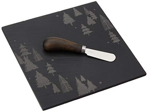 Lenox 878990Balsam Lane Slate Cheese Board with Knife