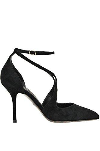 Escarpins MCGLCAT04000I E Gabbana Noir Dolce Femme Suède 6tYx7Ftwq