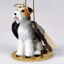 Christmas Ornament: Fox Terrier Wire