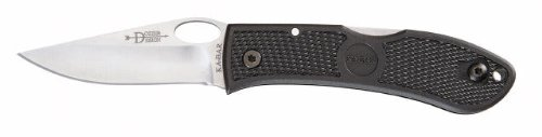KA-BAR Dozier Folding Hunter - Straight Edge w/Thumb - Bar Ka Dozier Folding Thumb