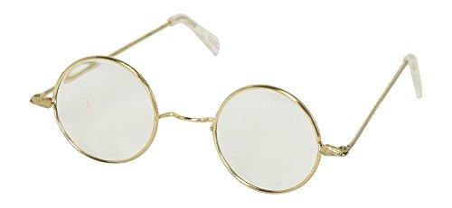 Round Santa's Eyeglasses