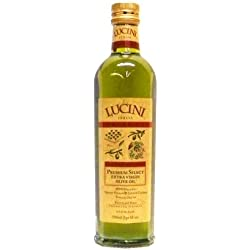 Lucini Italia Organic Extra Virgin Olive Oil, Large, 17 oz