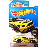 yellow ford mustang - 4