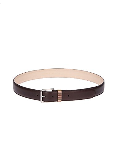 Paul Smith Men's Auxc4950b590a66 Brown Leather Belt by Paul Smith