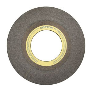 PART NO. NOR21418 Charger Long Life, Charger Snagging Wheel Type 01 Straight, 30 x 2 x 12'', 14 Grit, Zirconia Alumina by Norton Abrasives - St. Gobain