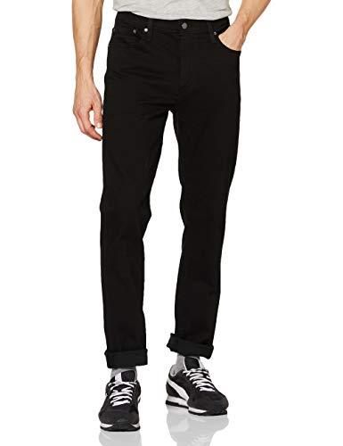 Levi's 511 Slim Fit Jeans Pantalón vaquero con corte estilizado, Negro (Nightshade 1507), 34W / 32L para Hombre