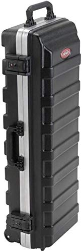 SKB Cases 1SKB-H3611 ATA Trap Case, Vacuum-formed Polyethylene Hard-shell Construction, Sturdy Built-in Wheels, TSA Recognized and Accepted Locking Latches