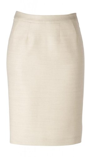 woolmaster Women's Wool/Silk/Linen Pencil Skirt 8 (Fully Lined Pencil)