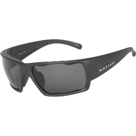 Native Eyewear Gonzo Polarized Sunglasses Charcoal/Gray, One Size