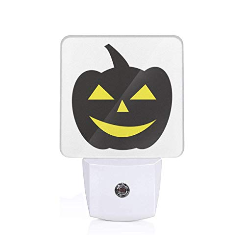 Happy Halloween Auto Sensor LED Dusk to Dawn Night Light Plug in for Kids Baby Adults Room -
