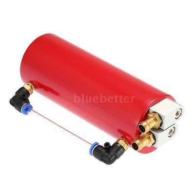FidgetFidget Billet Aluminium Racing Engine Oil Catch Tank Can Reservoir Red Universal by FidgetFidget (Image #8)
