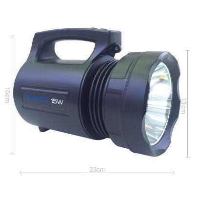TYXZLF LED Fishing Light Glare Rechargeable Searchlight for Camping Sports Adventure Fishing by TYXZLF (Image #1)