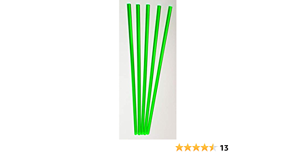 GPY 4 Pcs 1//2 Diameter by 18 Long Rods of Purple Translucent Extruded Acrylic 611RK #TN2R