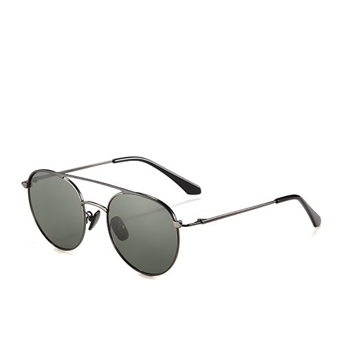 Gafas de C3 de C1 Unisex Gold Gafas Sol Gun Sunglasses Sol Hombres Guía Aviador Rosa Sol Metal polarizadas Smoke de Gafas TL Bastidor de vxXUnq