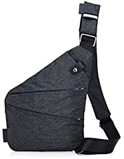 Ovecat Sling Bag Crossbody Shoulder Chest Back Pack Anti Theft Sash Bags for Men Women
