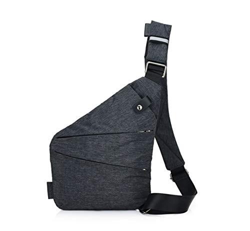 Ovecat Umhängetasche, Schultertasche, Brusttasche, Anti-Diebstahl, für Damen und Herren