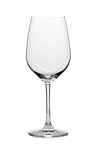 Stolzle Eclipse Wine Glasses, 16.75 oz (Set of 6) (Crystal White Eclipse)