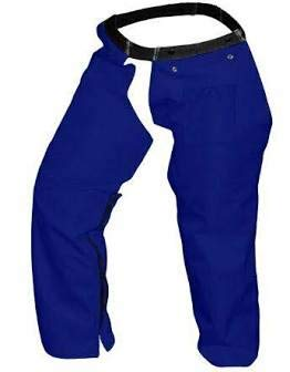 Forester Protective Trimmer Safety Chaps, Navy, Large (Best Weed Eater For A Woman)