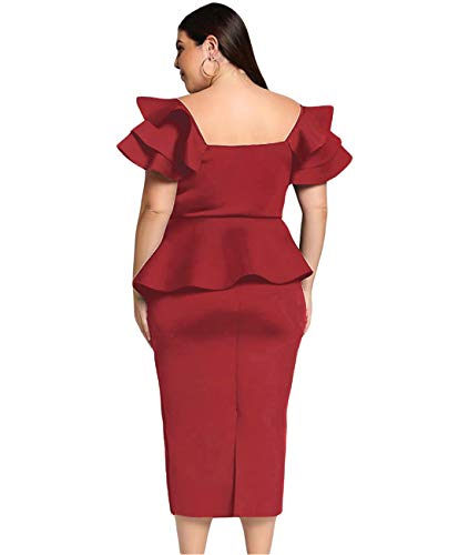 Valentine Plus-Size off-Shoulder Dresses