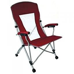 Mac Sports Commander Mesh Chair | Opens & Folds in Seconds for Easy Storage & Transport