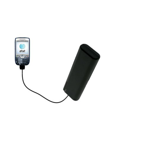(Portable Emergency AA Battery Charger Extender suitable for the Palm Treo 750 - with Gomadic Brand TipExchange Technology)