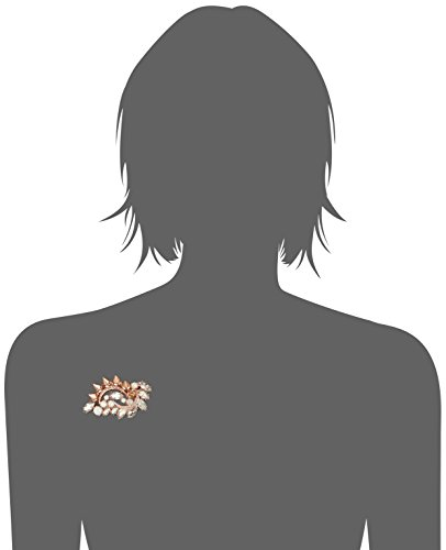 Mawi London - AW14/A/BRO/02A/43 -  Broche Femme - Laiton 100.0 Gr - Cristal 1.0 Cts
