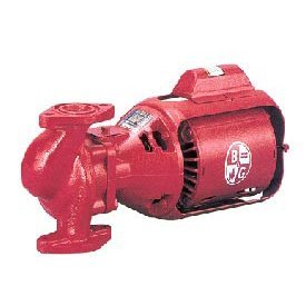 Bell & Gossett 106189 Bell & Gosset Iron Body Circulator Pump, 5.7 X 15.5 X 7.7, Red