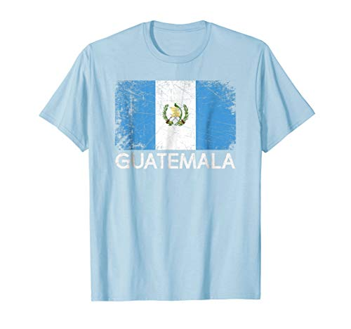Guatemalan Flag T-Shirt | Vintage Made In Guatemala Gift